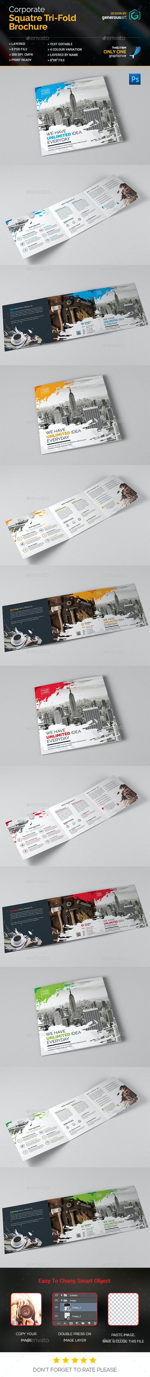 Square_Tri-Fold Brochure - Corporate Brochures