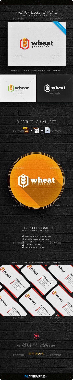 Wheat Logo - Nature Logo Templates