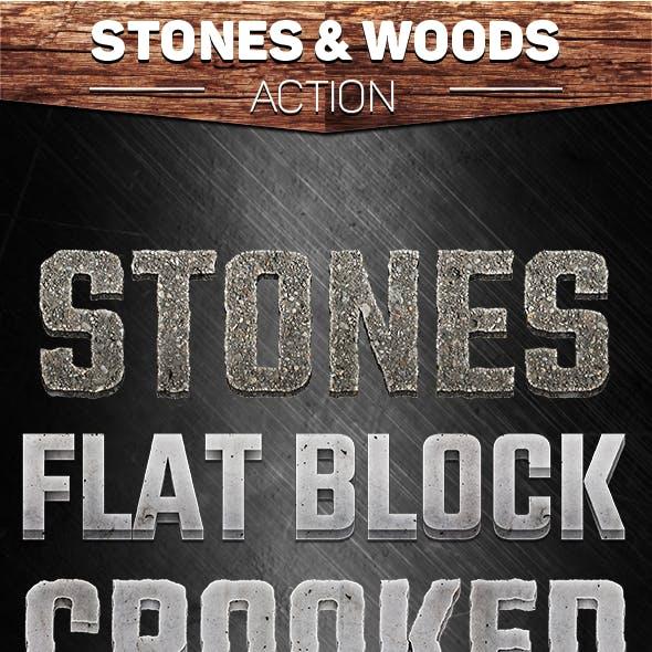 Stones & Woods Action