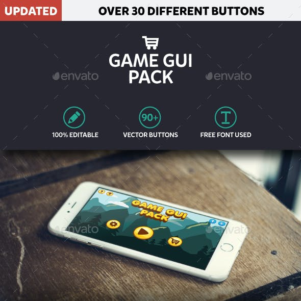 Game GUI Pack Mobile