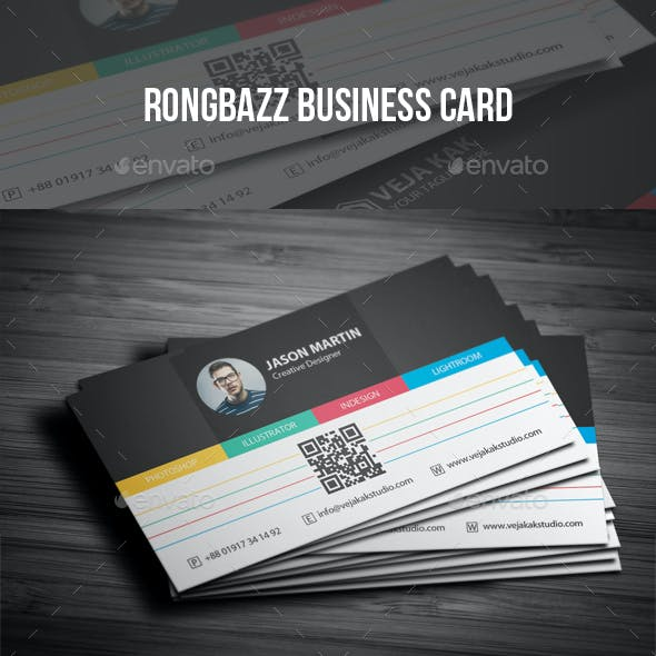 Rongbazz Business Card