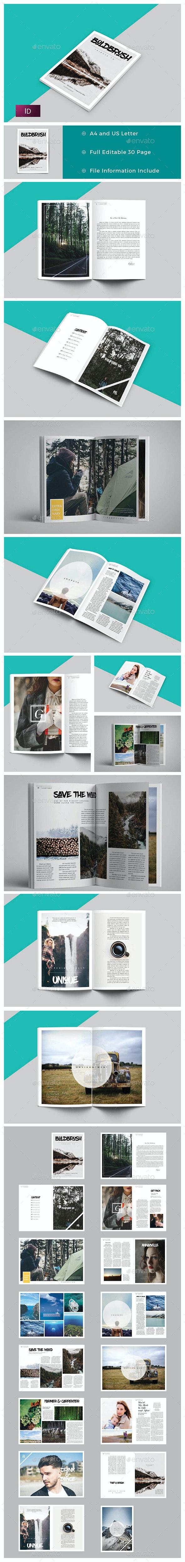 Boldbrush Magazine / Portfolio - Magazines Print Templates