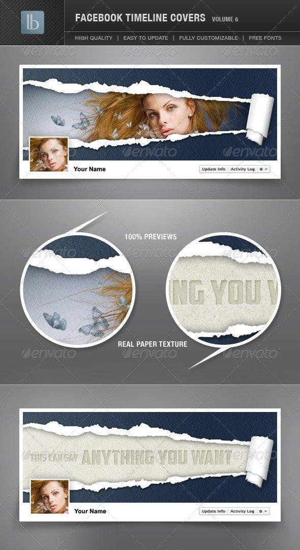 Facebook Timeline Cover | Volume 6 - Facebook Timeline Covers Social Media