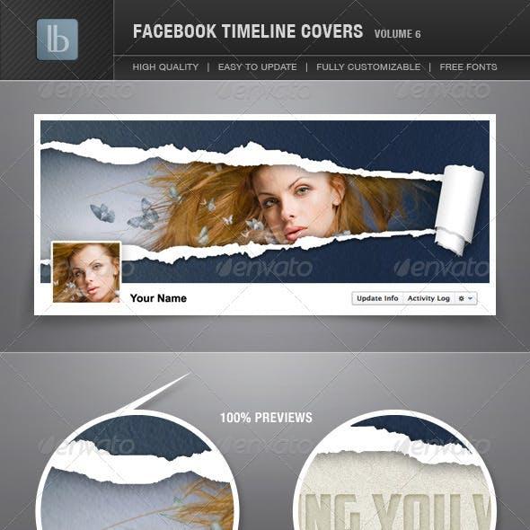 Facebook Timeline Cover | Volume 6