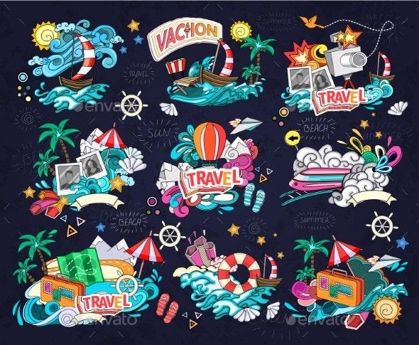 Travel Vector Illustration. - Travel Conceptual