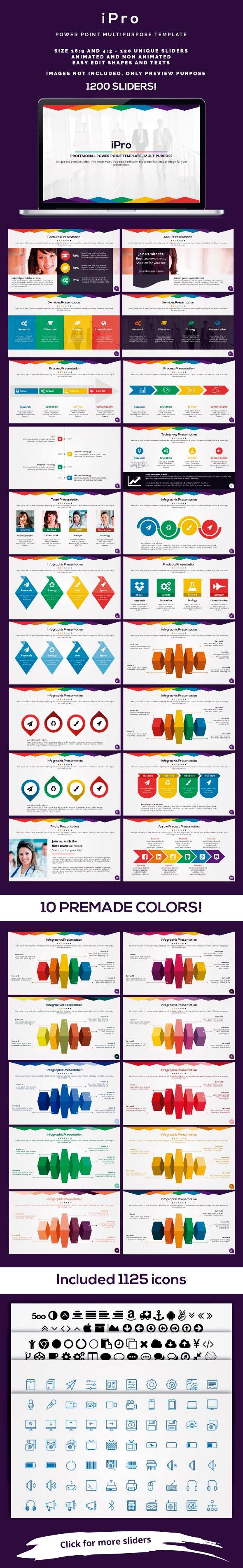 iPro Power Point - Creative PowerPoint Templates