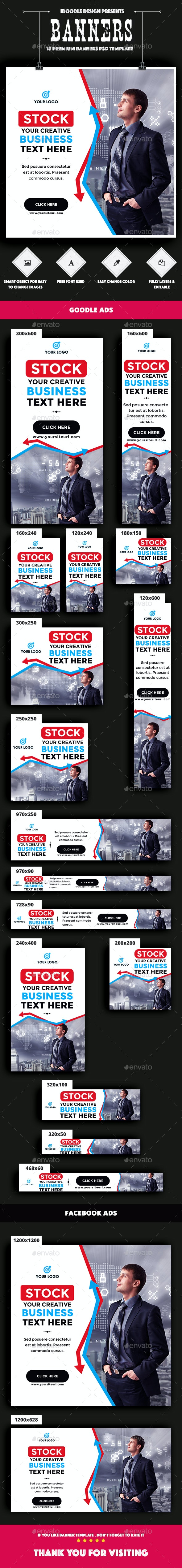 Business Banners Ads - Banners & Ads Web Elements