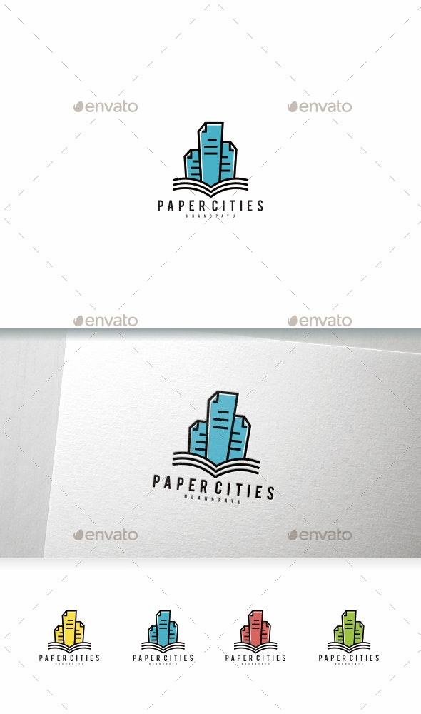 Paper Cities - Logo Templates