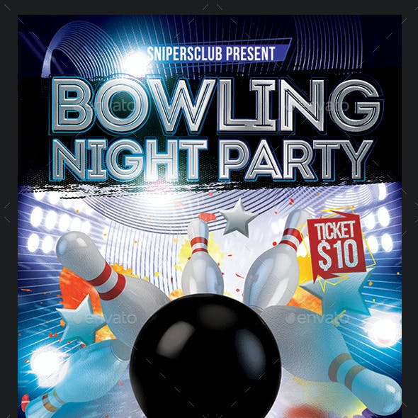 Bowling Night Party