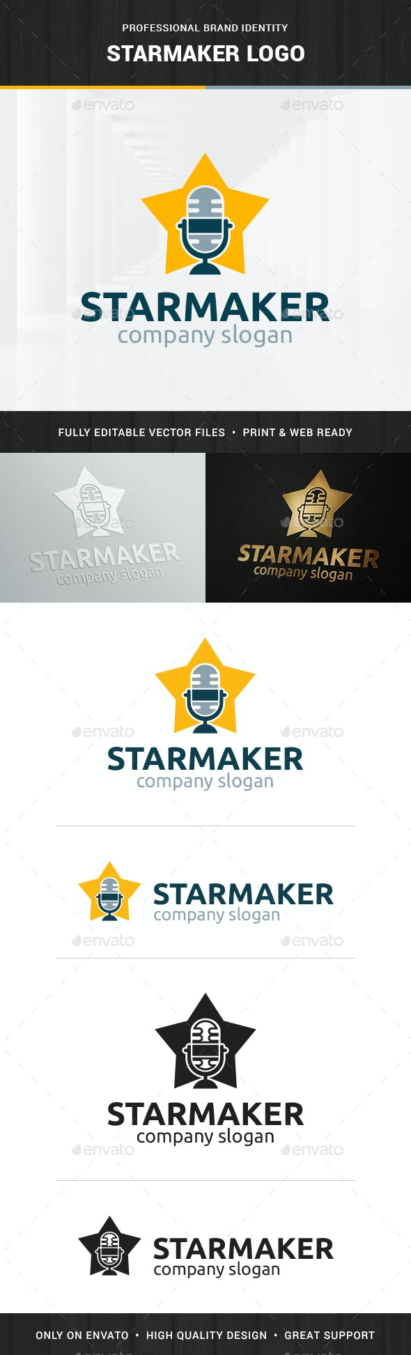 Starmaker Logo Template - Objects Logo Templates