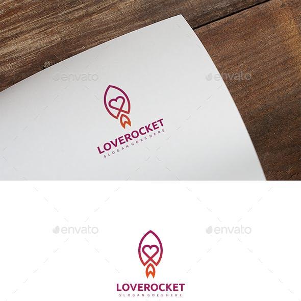 Love Rocket Logo