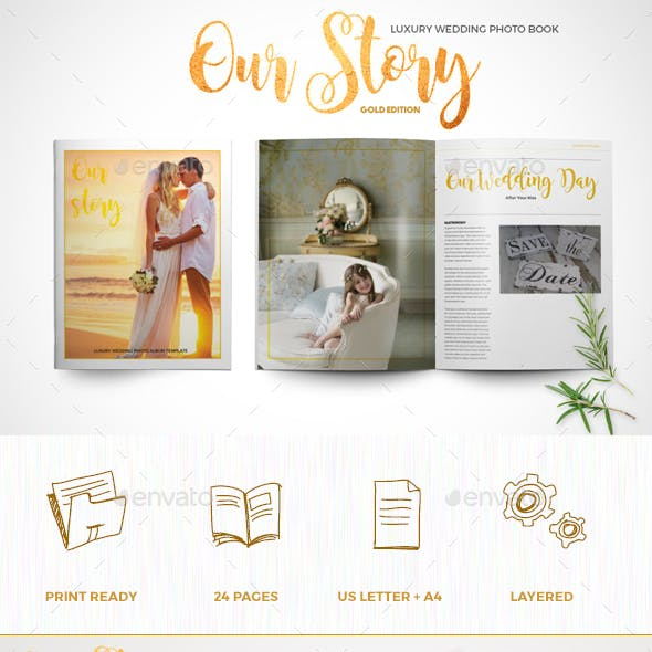 Luxury Wedding Photo Book