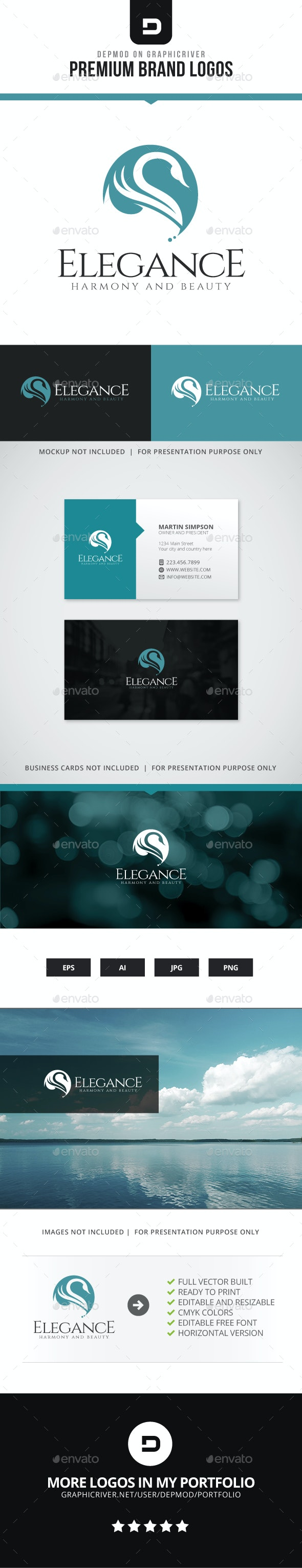 Elegance Logo - Animals Logo Templates