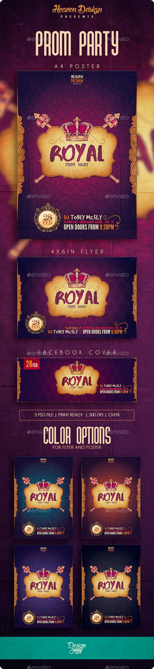Prom | Poster - Events Flyers