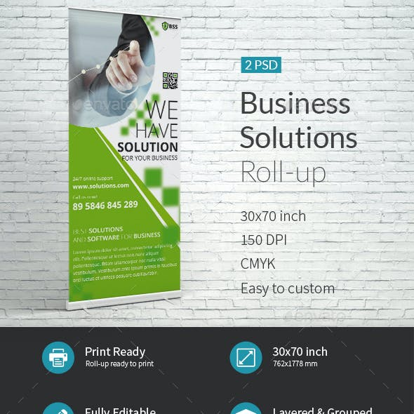 Business Solutions Company Roll-up Template