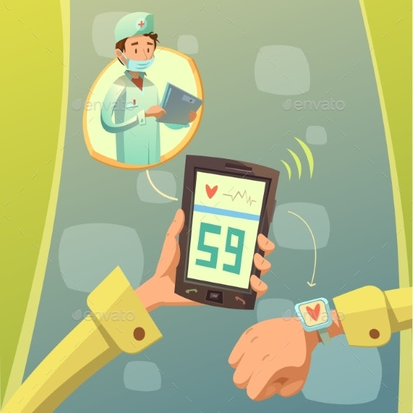 Mobile Doctor Consultation - Health/Medicine Conceptual