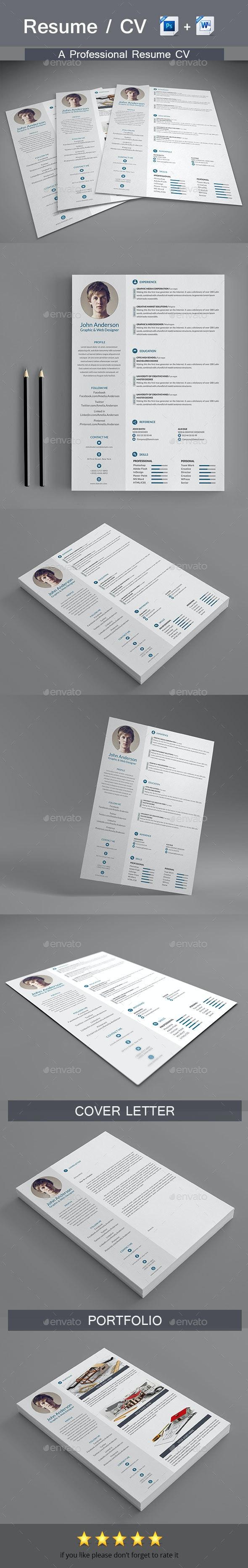 Professional Resume - Resumes Stationery