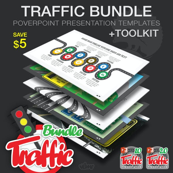 Traffic PowerPoint Presentation Bundle