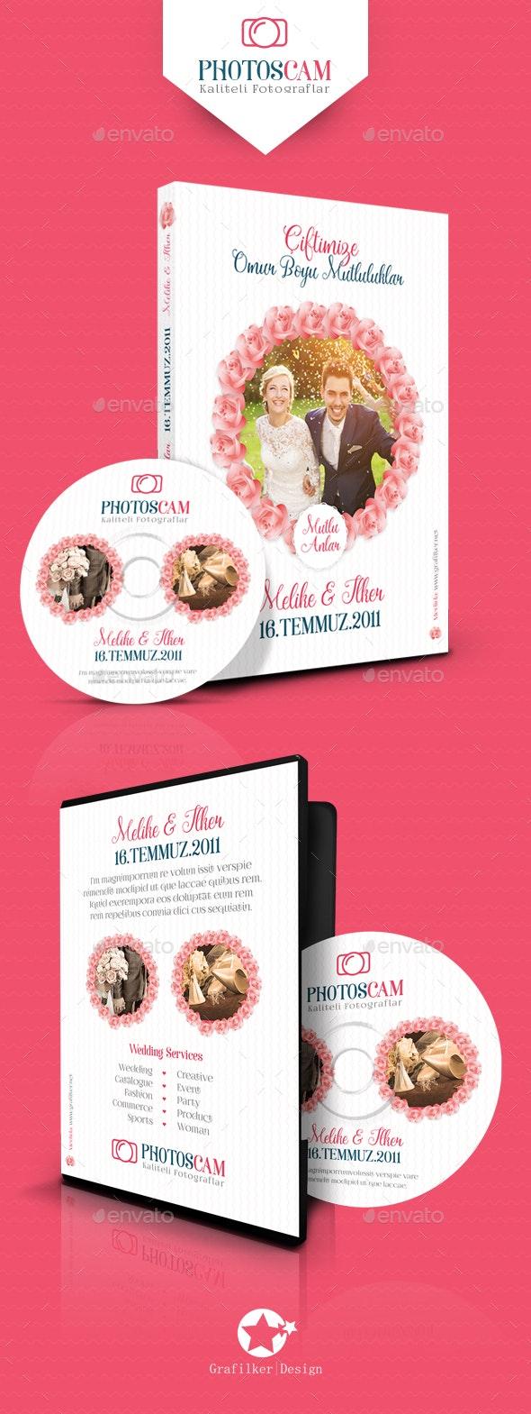 Wedding Dvd Cover Templates - CD & DVD Artwork Print Templates