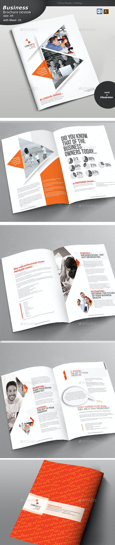 Multipurpose Brochure Design  - Brochures Print Templates