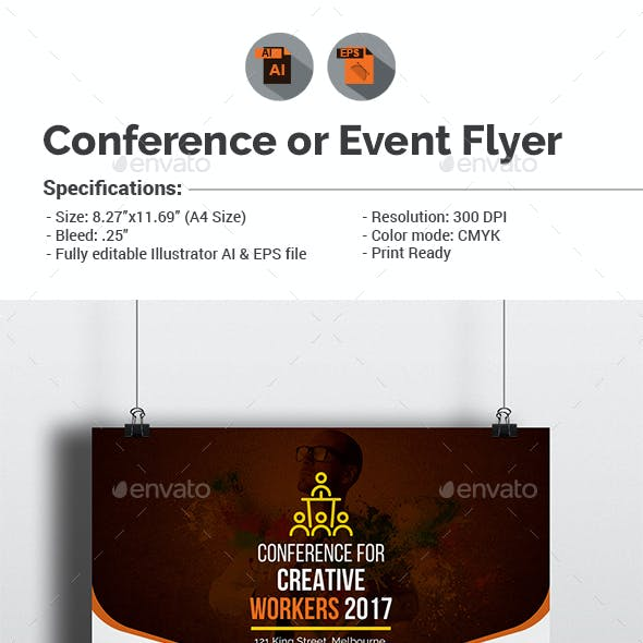Conference / Event Flyer