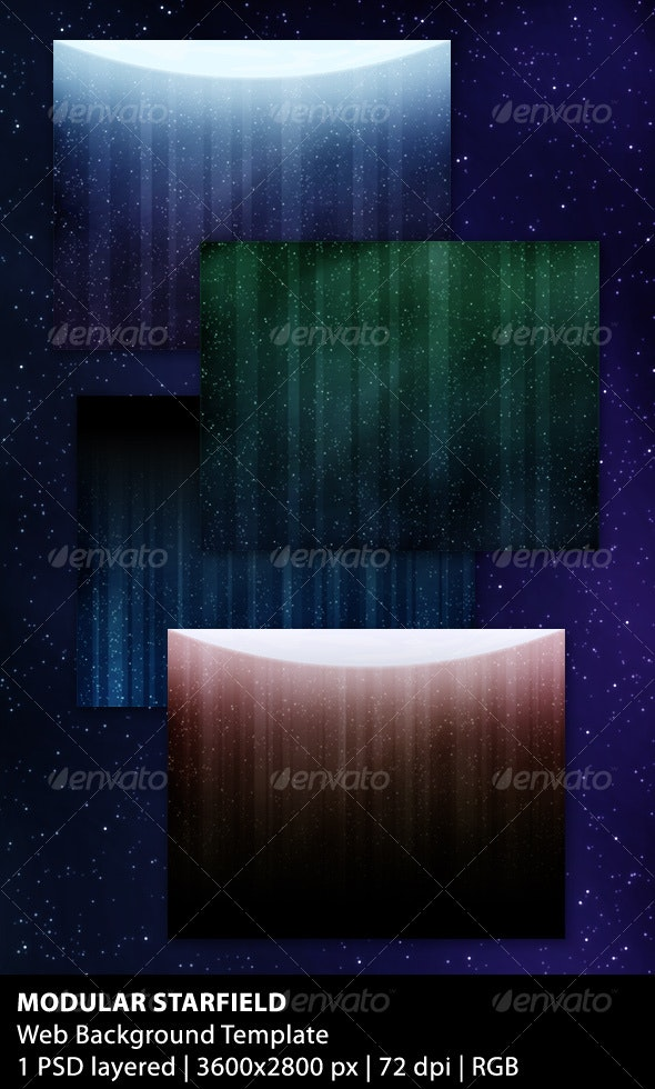 Modular Starfield Background - Backgrounds Graphics