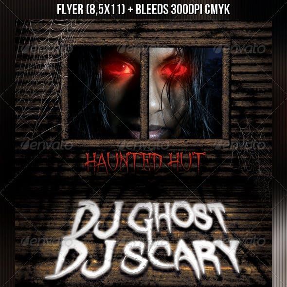 Haunted Hut Flyer