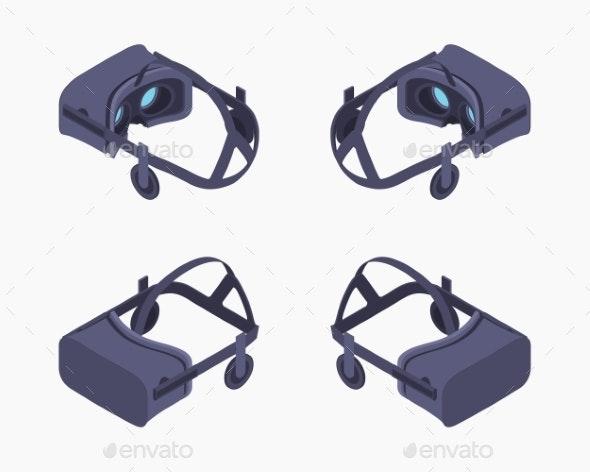 Isometric Virtual Reality Headset - Media Technology
