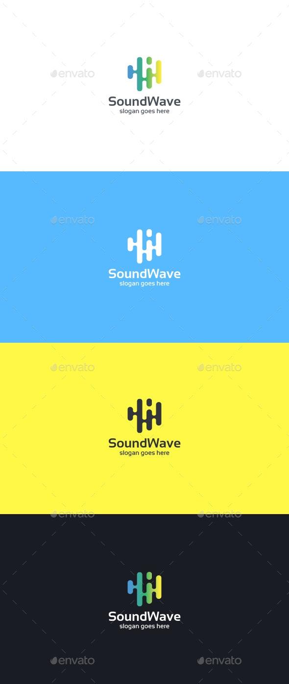 Sound Wave Logo Template - Abstract Logo Templates