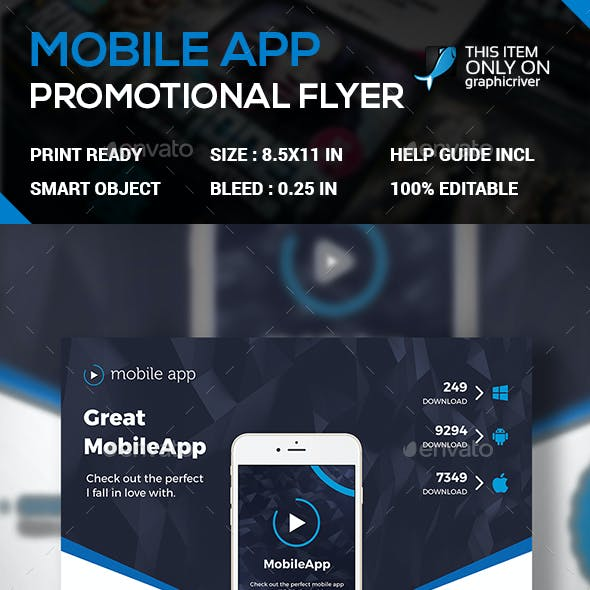 Apps Promotional Flyer
