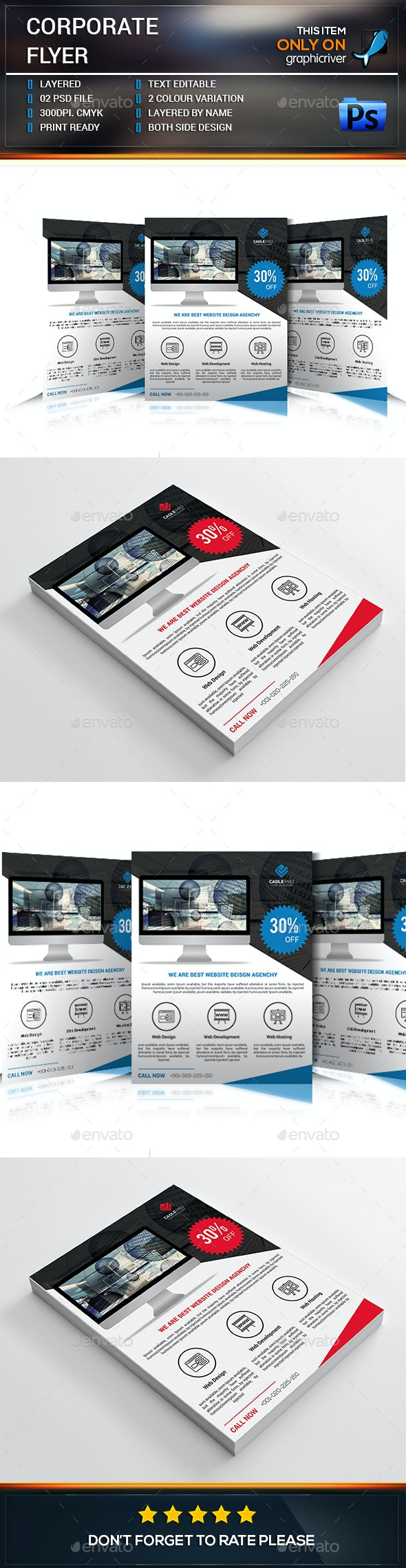 Web Business Flyer - Commerce Flyers