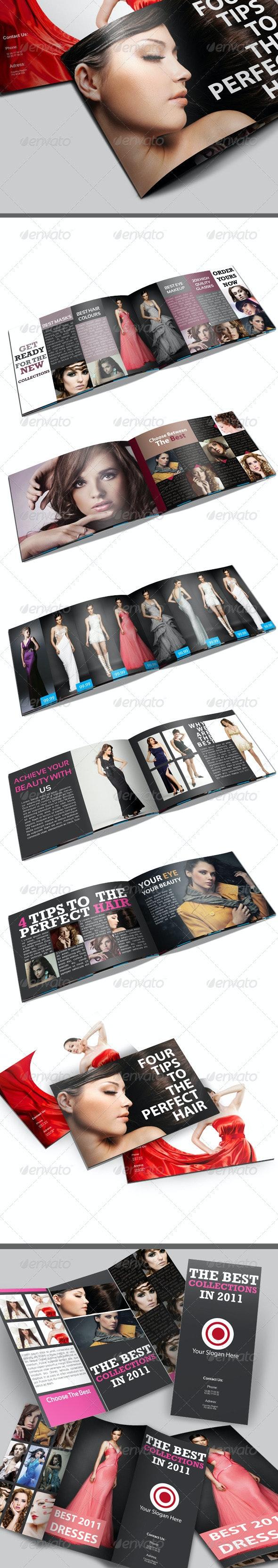 A5 Fashion Catalog \ Brochure - Catalogs Brochures