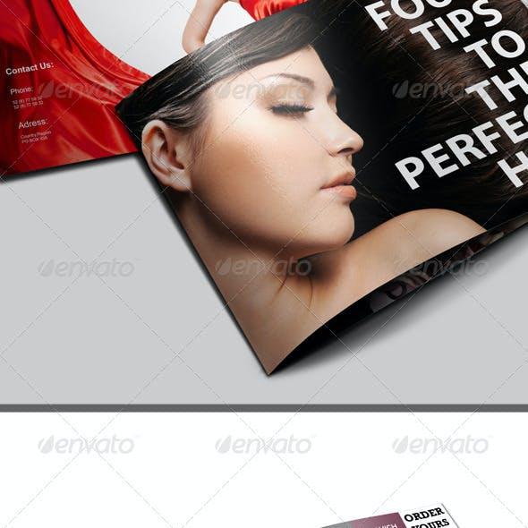 A5 Fashion Catalog \ Brochure