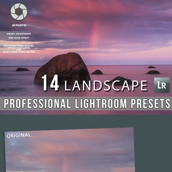 14 Professional Landscape Lightroom Presets