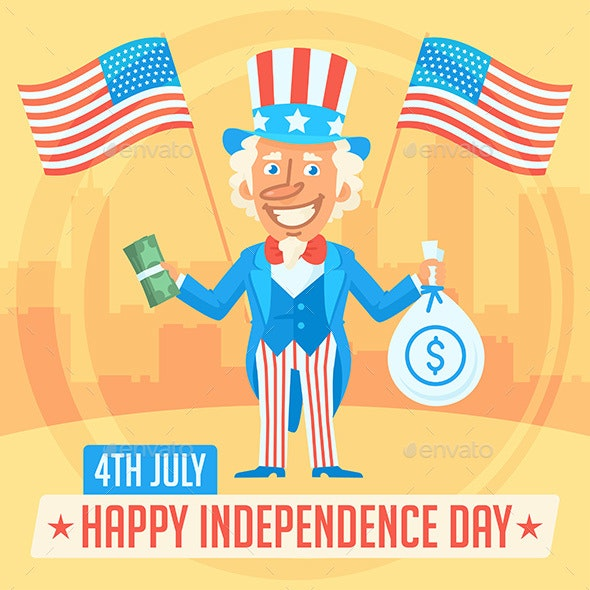 Concept Uncle Sam and Independence Day 2 - Miscellaneous Seasons/Holidays