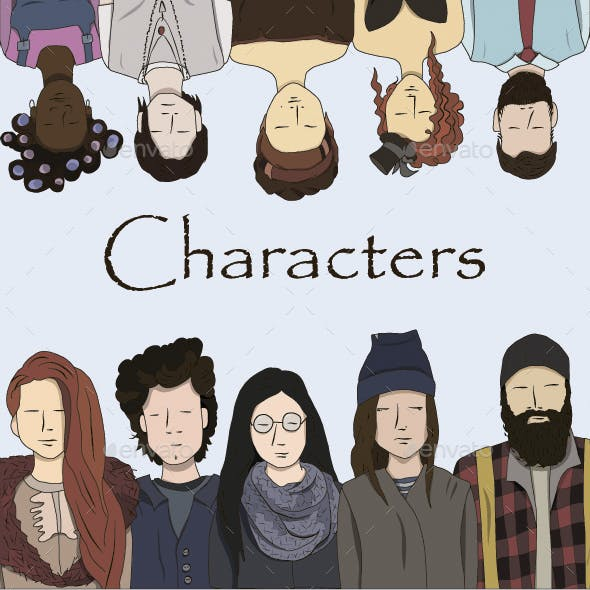 People Characters Set