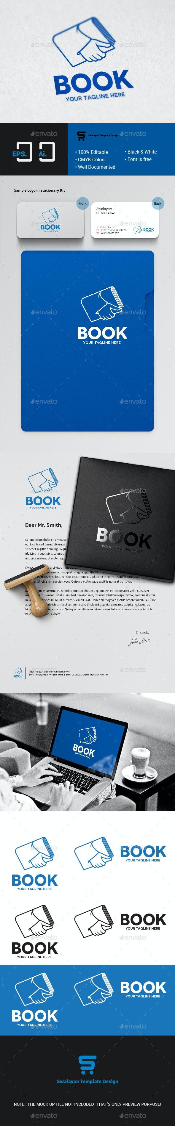 Book Logo - Abstract Logo Templates