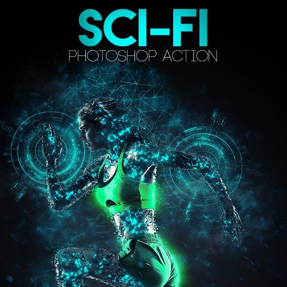 Sci-Fi Photoshop Action
