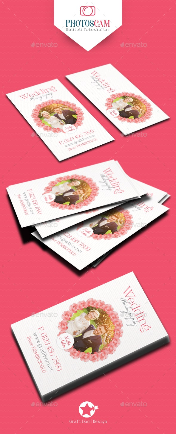 Wedding Business Card Templates - Creative Business Cards
