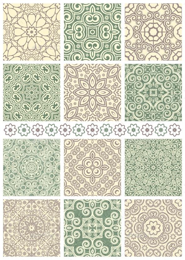 Seamless Backgrounds - Patterns Decorative
