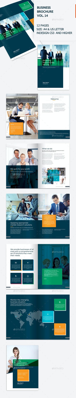 Business Brochure Vol. 14 - Brochures Print Templates