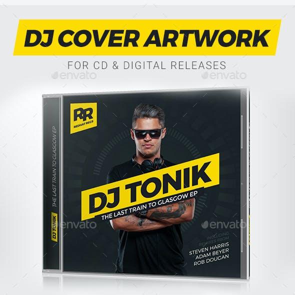 ProDJ - DJ Mix / Album CD Cover Artwork PSD Template