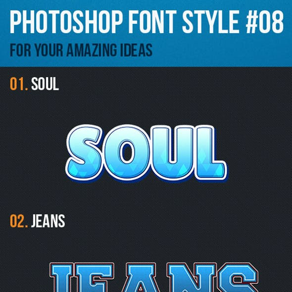 10 Font Style for Game Logo #08