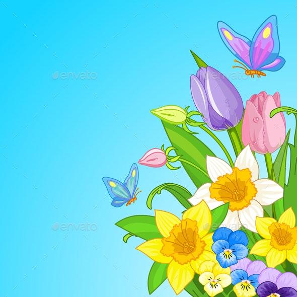 Easter Bouquet  - Flowers & Plants Nature