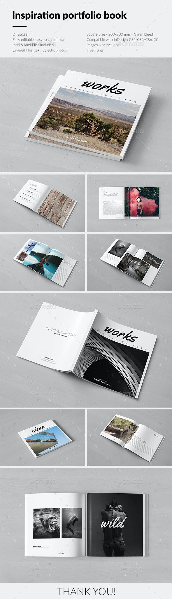 Inspiration Portfolio Book - Portfolio Brochures