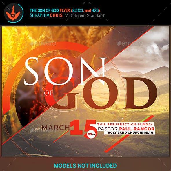 Son of God Church Flyer Template