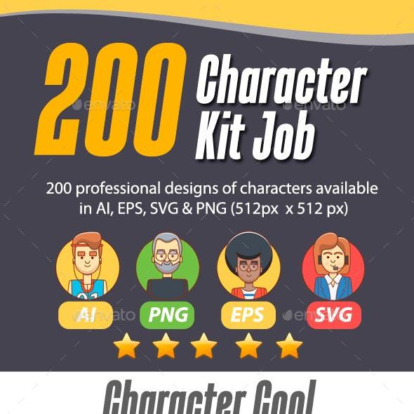 200 Character Kit Job