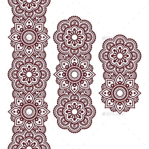 Mehndi Indian Henna Pattern