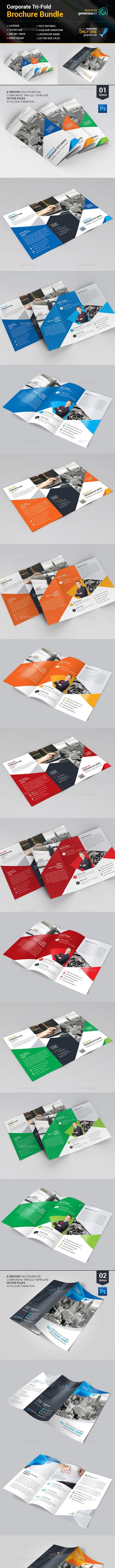 Tri-fold Bundle_2 in 1 - Corporate Brochures