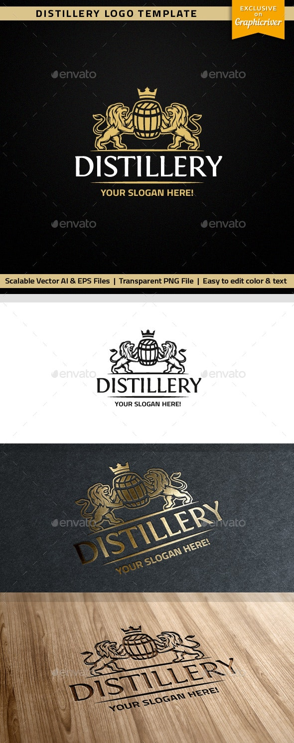 Distillery Logo - Crests Logo Templates